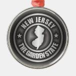 """""""Ornamentos del acero de New Jersey"""" Ornamentos De Navidad"""