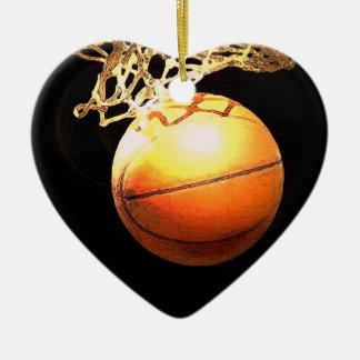 Ornamentos del árbol de navidad del baloncesto adorno para reyes