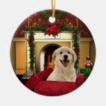 Ornamentos del árbol de navidad del golden retriev ornaments para arbol de navidad
