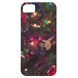Ornamentos del árbol de navidad iPhone 5 carcasas
