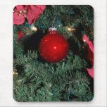 Ornamentos del árbol de navidad alfombrillas de raton