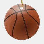 Ornamentos del baloncesto adorno de navidad