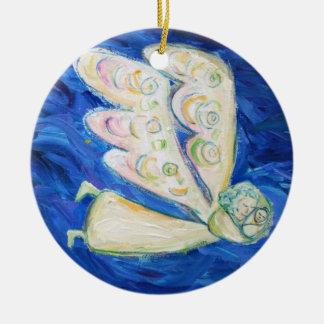 Ornamentos del colgante del arte del ángel del beb ornamente de reyes