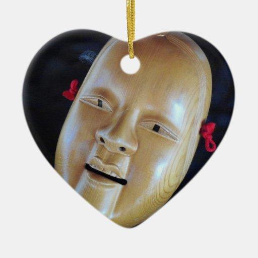 Ornamentos del drama del teatro de la máscara de N Ornamento De Navidad