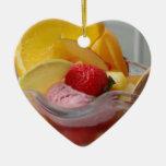 Ornamentos del helado del helado adornos