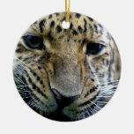 Ornamentos del leopardo de Amur Ornamentos De Reyes Magos