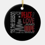 Ornamentos del navidad 1 de la diabetes ornamento para reyes magos