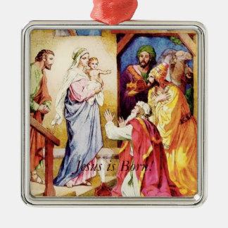 Ornamentos del navidad de los hombres sabios de Je Adornos De Navidad