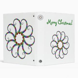 Ornamentos del navidad del fractal