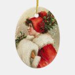 Ornamentos del navidad del Victorian Adornos De Navidad