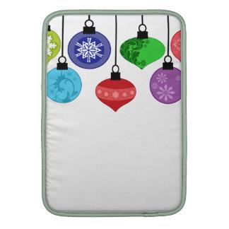 Ornamentos del navidad fundas macbook air