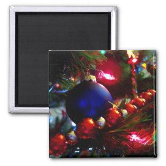 Ornamentos del navidad iman de nevera