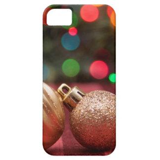 Ornamentos del navidad iPhone 5 fundas