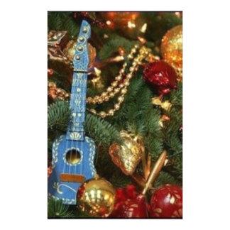 ornamentos del navidad papelería