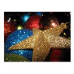 Ornamentos del navidad postal