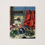 Ornamentos del navidad puzzle con fotos