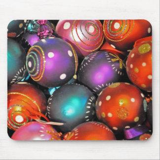Ornamentos del navidad tapete de raton