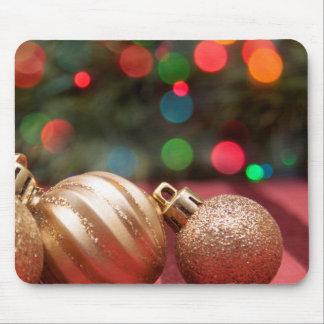 Ornamentos del navidad alfombrillas de ratón