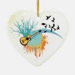 Ornamentos del personalizado de la guitarra acústi adorno de reyes