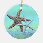 Ornamentos del tema del océano de las estrellas de ornamentos para reyes magos