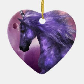 Ornamentos del unicornio ornamentos de reyes magos