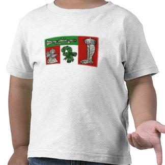 Ornamentos del vintage camiseta