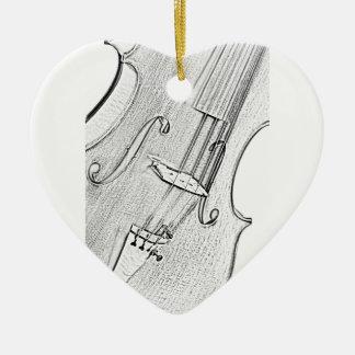 Ornamentos del violín ornato