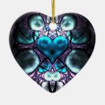 Ornamentos encantados del árbol del fractal del co ornatos