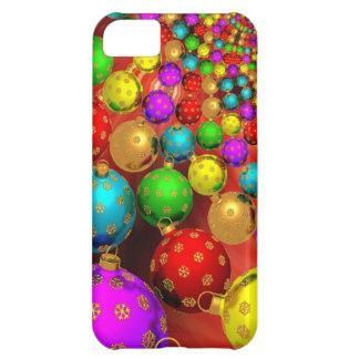 Ornamentos flotantes del día de fiesta funda para iPhone 5C