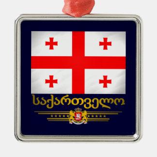 Ornamentos georgianos del orgullo ornato