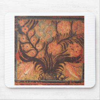 Ornamentos húngaros del pecho tapetes de ratón