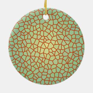 Ornamentos modelados Design> decorativos del Adorno Navideño Redondo De Cerámica