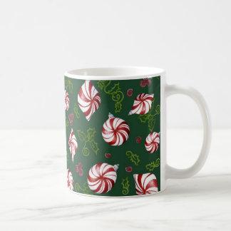 Ornamentos modernos del navidad del caramelo de hi tazas