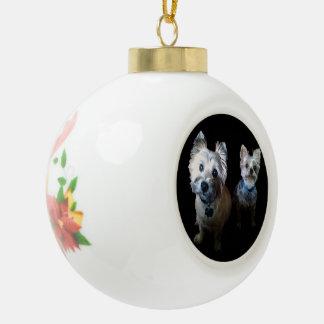 Ornamentos modificados para requisitos adorno de cerámica en forma de bola