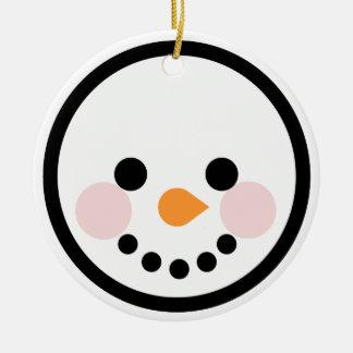 """Ornamentos """"muñeco de nieve """" de Navidad de Andy Ornamento Para Reyes Magos"""