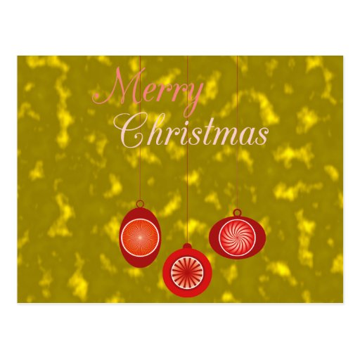 Ornamentos para el diseño del navidad postales