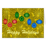 Ornamentos para el diseño del navidad tarjeta