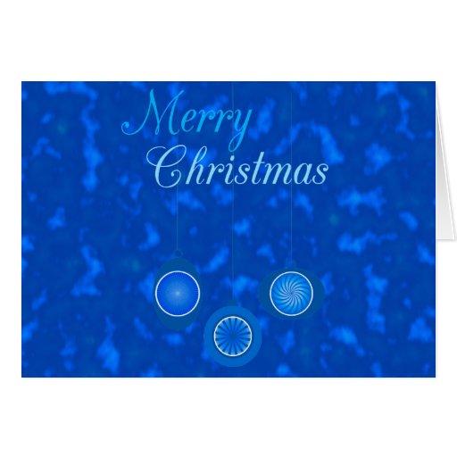 Ornamentos para el diseño del navidad tarjeta de felicitación