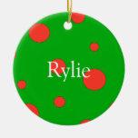 Ornamentos personalizados del navidad ornamento de reyes magos