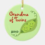 Ornamentos personalizados para los abuelos de ornaments para arbol de navidad
