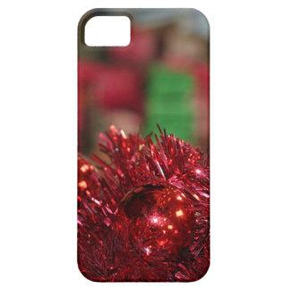 Ornamentos rojos iPhone 5 carcasa