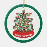 Ornamentos temáticos Norte de Polo mini en el árbo Adorno De Navidad