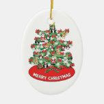 Ornamentos temáticos Norte de Polo mini en el árbo Ornamentos De Navidad