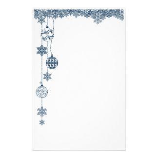 Ornamentos y efectos de escritorio del navidad de  papeleria de diseño