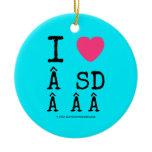 i [Love heart]   sd    i [Love heart]   sd    Ornaments