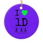 i [Love heart]  1d    i [Love heart]  1d    Ornaments