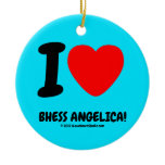 i [Love heart]  bhess angelica! i [Love heart]  bhess angelica! Ornaments