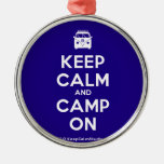 [Campervan] keep calm and camp on  Ornaments