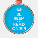 [Crown] be reem and read on!!!!!!  Ornaments