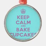 [Cupcake] keep calm and bake cupcakes  Ornaments